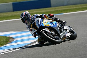 BMW Motorrad celebrated its 7th podium of the season at Donington Park