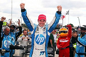 IndyCar Race report Simon Pagenaud captures first IndyCar win