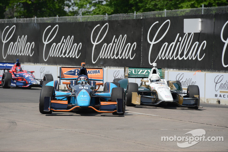 Luck eludes Barracuda Racing in Detroit