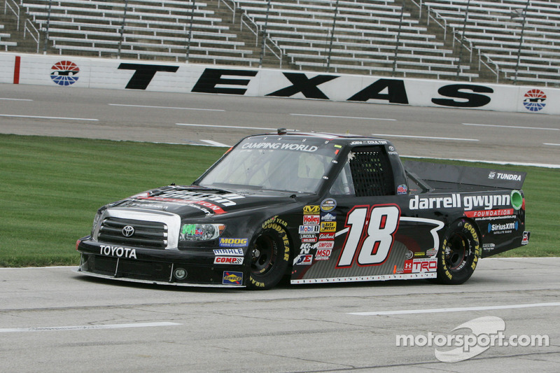 Coulter debut new Tundra chassi at TMS