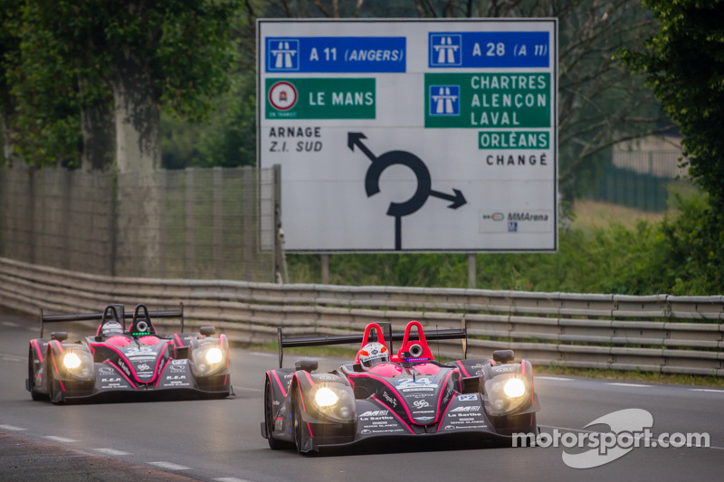 All eyes on OAK Racing at the Test Day for the 24 Hours of Le Mans