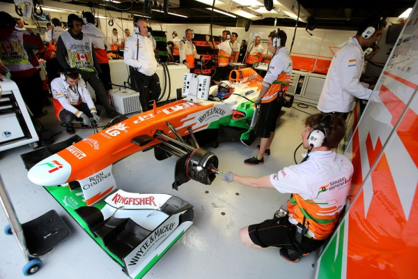 Force India scuffle followed di Resta's criticism