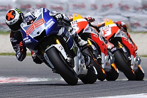 MotoGP Preview Bridgestone readies their tyres for Circuit de Catalunya