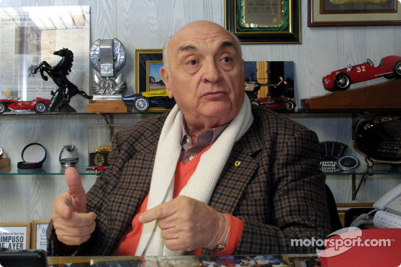Ferrari's first Formula One winner Gonzalez dies at the age of 90