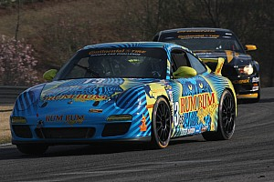 Grand-Am Race report Lucky win number 13 for Rum Bum Racing at Mid-Ohio