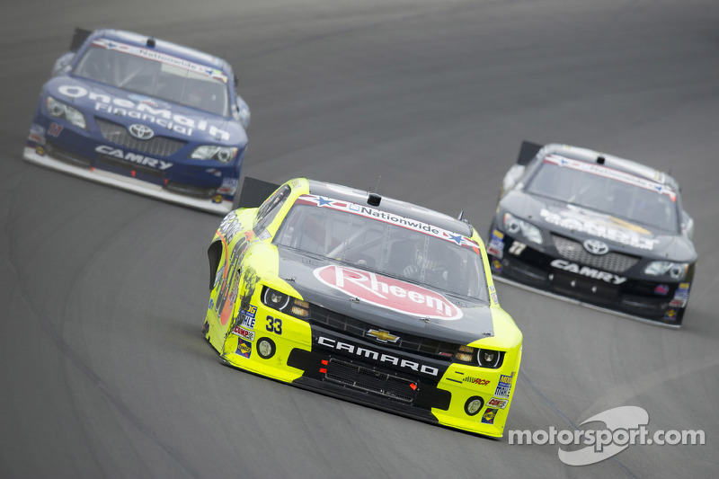 RCR's Menard captures third-place finish at Michigan International Speedway