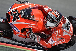 Dovizioso seventh in Catalonia, crash for Hayden