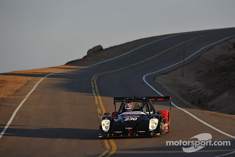 TMG EV P002 ready for Pikes Peak challenge