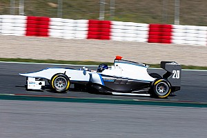 GP3 Race report Bamboo GP3 show speed in Valencia
