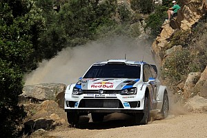 WRC Leg report Ogier clear after first day in Italy