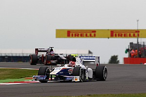 GP2 Race report Trident Racing's Ceccon ending up Race 2 at Silverstone in 12th place