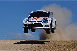 WRC Breaking news Volkswagen leads championship at halfway point