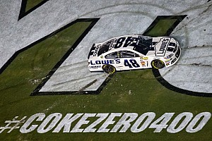 NASCAR Sprint Cup Race report Johnson ties Daytona record with the Coke Zero 400 victory