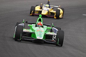 IndyCar Qualifying report Marco Andretti Wins the Pole for Pocono INDYCAR 400