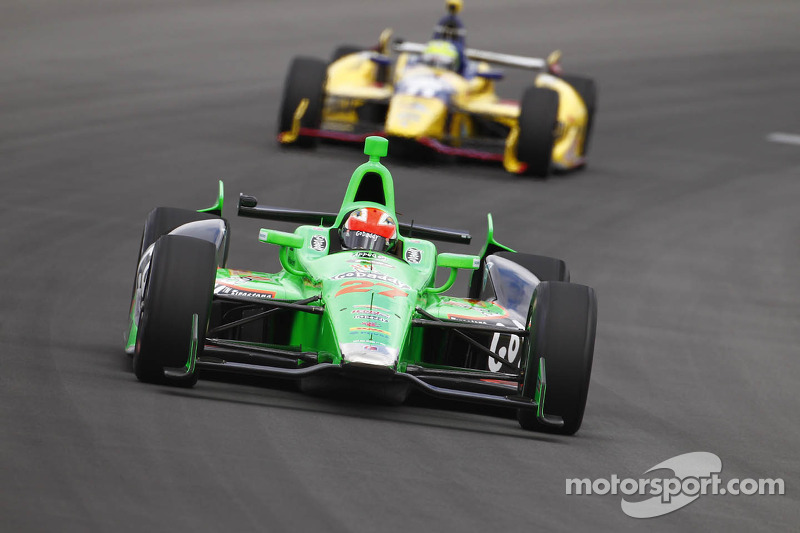 Marco Andretti Wins the Pole for Pocono INDYCAR 400