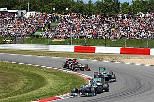 Formula 1 Race report Hamilton and Rosberg finished the German GP in fifth and ninth places