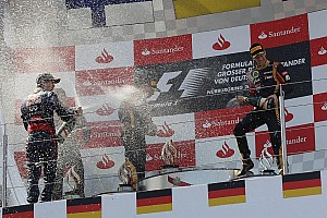 Formula 1 Breaking news Grosjean rescues career with Nurburgring podium