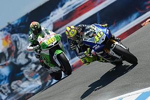 Third consecutive podium for Rossi in Laguna battle
