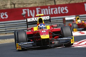GP2 Qualifying report Fabio Leimer and Racing Engineering qualify 3rd at the Hungaroring