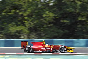 GP2 Race report Fourth place for Leimer and Racing Engineering at the Hungaroring Feature Race