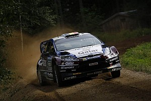 WRC Leg report Neuville leads tight fight on day one in Finland