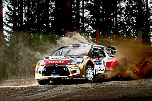 WRC Leg report Finland Day 2: Citroen drivers give it their all