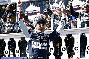 Kasey Kahne takes the Pocono 400 victory