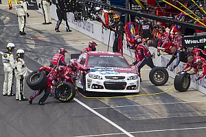 NASCAR Sprint Cup Race report Newman battles back from pit road problems, finishes 4th at Pocono
