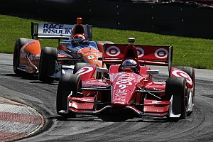 Franchitti leads team at Mid-Ohio with podium finish