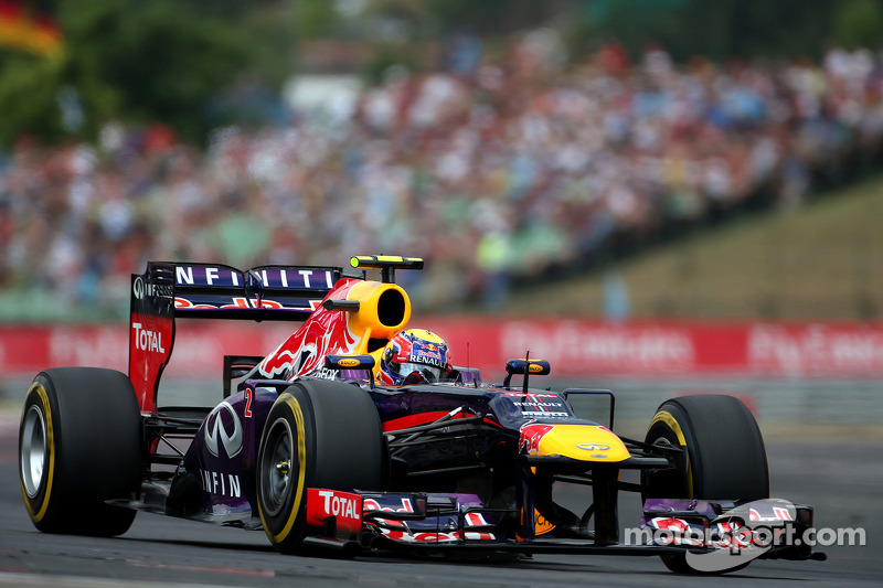 Webber won't miss 'boy' Vettel