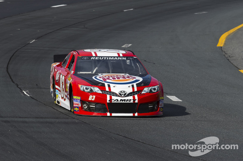 Reutimann's race slowed by mechanical failure following contact in Pocono