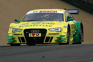 Audi driver Rockenfeller at Nürburgring as series leader