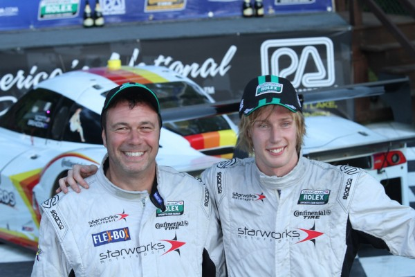 Starworks' Hartley, Mayer teamed up for their first win at Road America