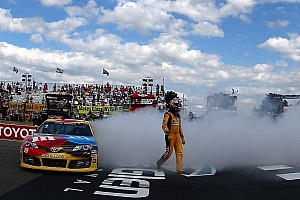NASCAR Sprint Cup Breaking news Kyle Busch succeeds at The Glen in dramatic finish
