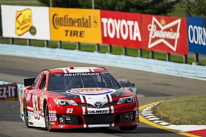 NASCAR Sprint Cup Race report Terminal engine damage ends Reutimann's race early in Watkins Glen