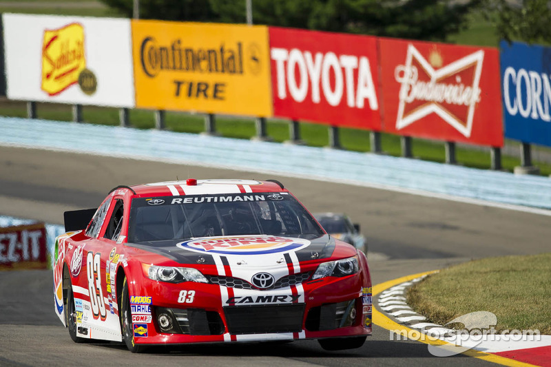 Terminal engine damage ends Reutimann's race early in Watkins Glen