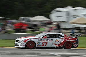Grand-Am Preview Stevenson Motorsports before race at Kansas Speedway
