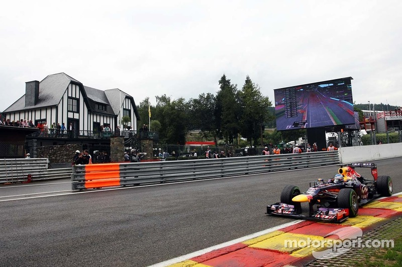 Red Bull is 2-3 on qualifying for the Belgian GP
