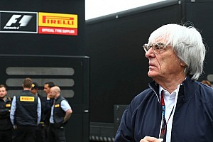 Ecclestone confirms Michelin eyeing Formula One return