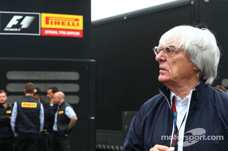 Ecclestone confirms Michelin eyeing Formula One return