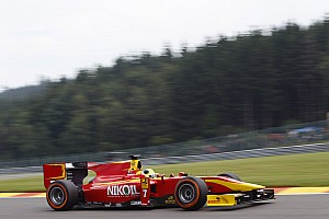 GP2 Race report Brilliant second place for Leal and Racing Engineering in the Sprint Race at Spa