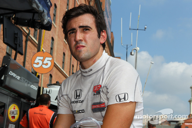 IndyCar places Tristan Vautier on probation