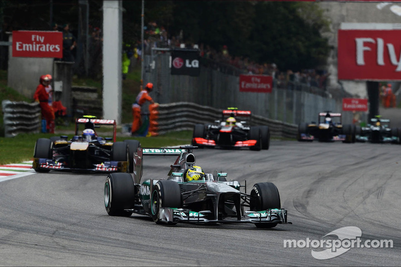 Rosberg and Hamilton finished the Italian GP in sixth and ninth places
