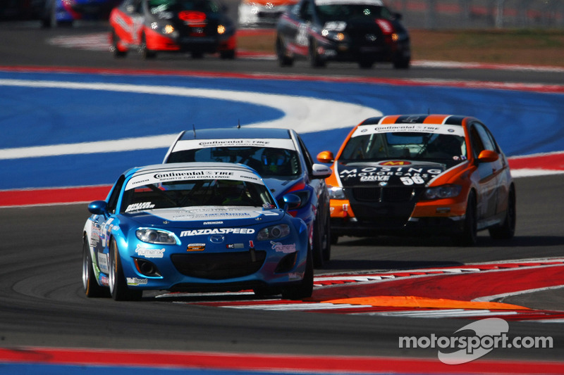 McAleer wins the 2013 Continental Tire Sports Car Challenge Rookie of the Year