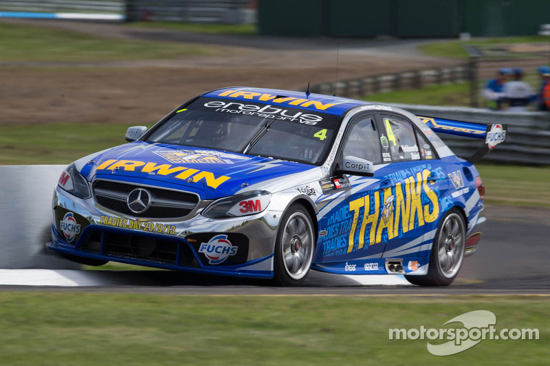 Erebus Motorsport V8 attracts some Black Friday magic for the Sandown 500