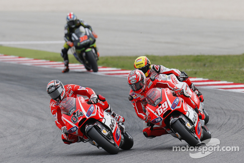 Dovizioso, Hayden eighth and ninth at Misano