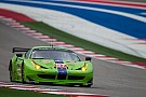 8th position in GTE-Am for Krohn Racing at Austin
