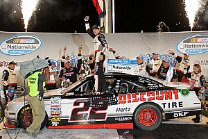 NASCAR XFINITY Race report Blaney blasts his way to first NASCAR Nationwide Series victory at Kentucky Speedway