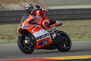 Third and fourth rows for Ducati Team at MotorLand Aragón
