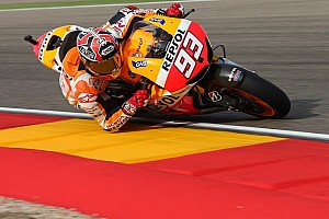 MotoGP Race report Marquez claims stunning sixth win of the season at Aragon